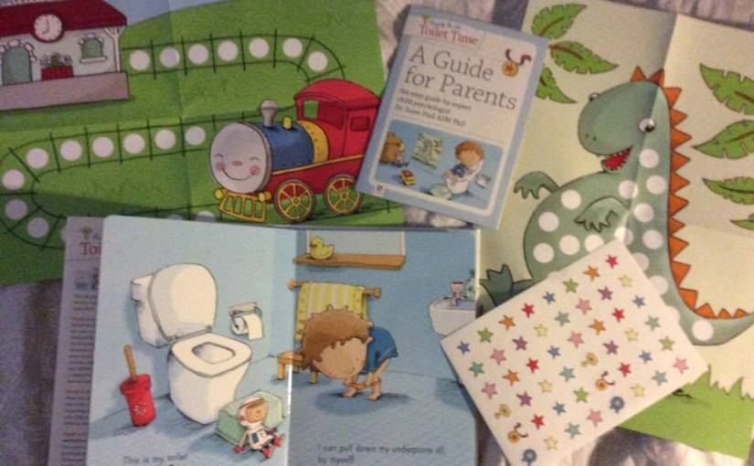 Toilet Time – celebrating our first poo